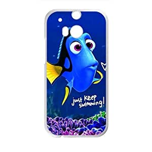 Finding Nemo lovely blue fish Cell Phone Case for HTC One M8