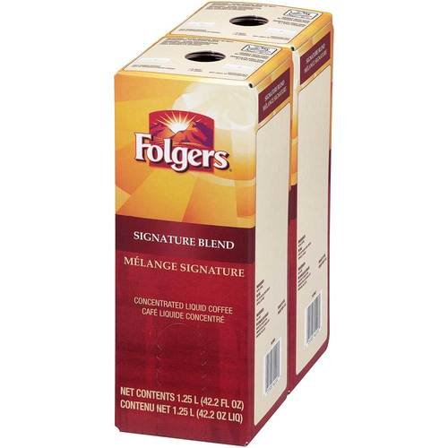 Folgers Signature Blend Coffee Liquid, 1.25 Liter -- 2 per case. by Folgers