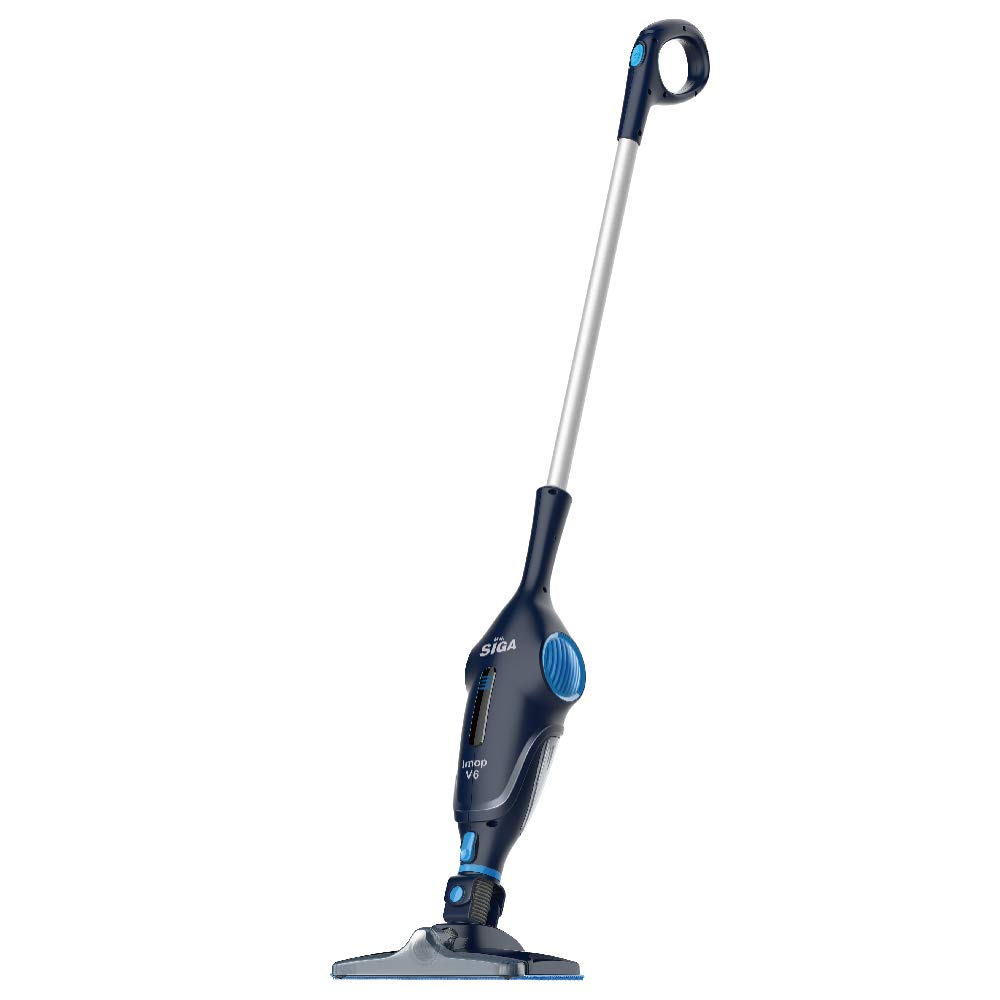 MR.SIGA IMOP 3 in 1 Cordless Lightweight Vacuum Cleaner Mop, Rechargeable 2500 mAh Lithium Battery Powered, Including 2 Filters, 2 Microfiber Mop Cloths and 2 Dry Sweeping Sheets