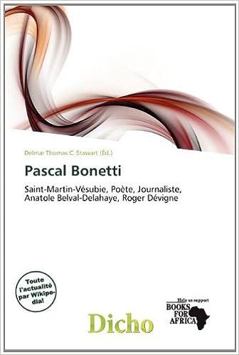En ligne Pascal Bonetti pdf, epub ebook