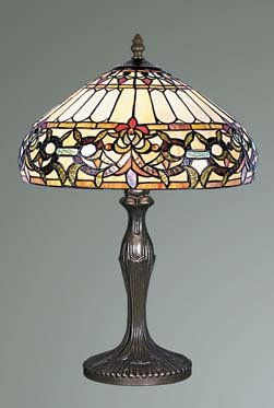 Ivy Tiffany Stained Glass Table Lamp