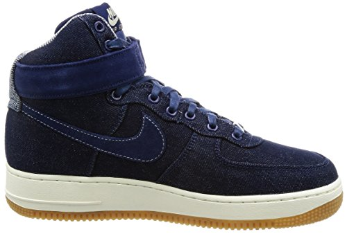 Nike Wmns Air Force 1 Hi SE Mens Fashion-Sneakers 860544-400_12 - Binary Blue/muslin-Sail-Gum Light Brown