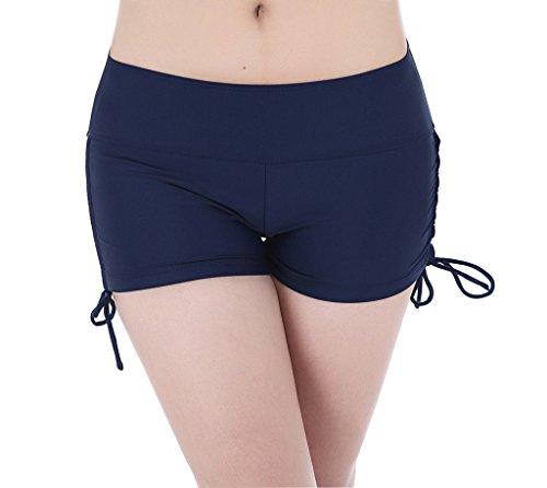 bee60aa80227 YoungSoul Shorts de baño para mujer - Bikinis de pantalon ...