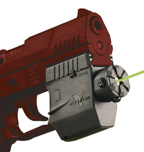 Viridian Green Laser Sights Built for Walther P22 and PK380