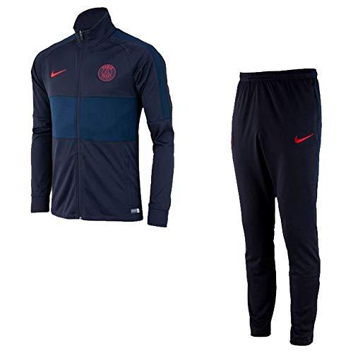 Nike 2019-2020 PSG Dry Knit Tracksuit (Oil Grey)