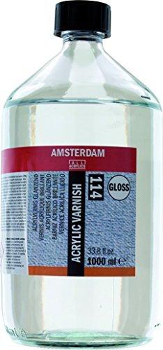 Amsterdam Protection - Acrylic Varnish - Gloss - 1000ml by Amsterdam
