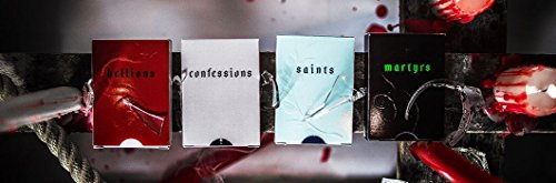 Daniel Madison Series 4-Deck Set (Confessions, Hellions, Martyrs, and Saints) Playing Cards Rare by Ellusionist by Supernaturalgames