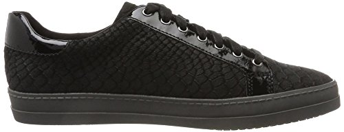 Femme Basses Struct 23603 Sneakers black Tamaris Noir 1awHqxtt8