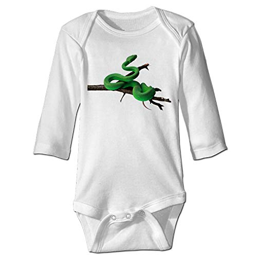 YSKHDBC Baby Long Sleeve Bodysuit Anaconda Infant Cotton Long-Sleeve Bodysuits (Suit Anaconda)