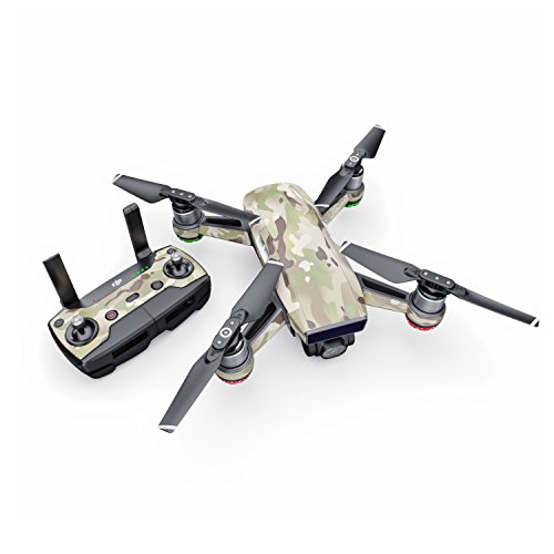 FC Camo Decal for Drone DJI Spark Kit - Includes Drone Skin, Controller Skin and 1 Battery Skin from DecalGirl