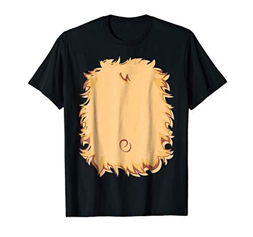 Christmas Bear Chest Costume Shirt Lion Kids Easy -