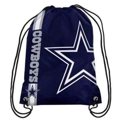 (NFL Dallas Cowboys Big Logo Drawstring Backpack)