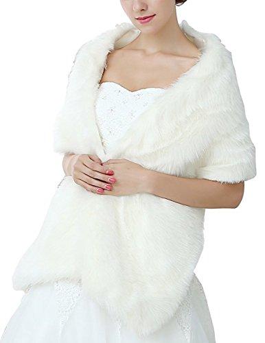Buy ivory cape dress - 3