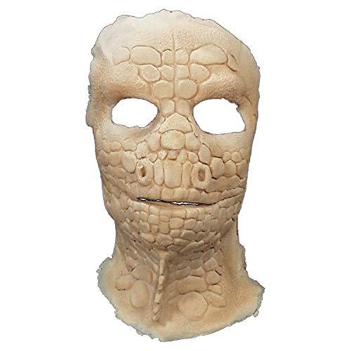 Prosthetic Lizard Full Face for Halloween - Costume