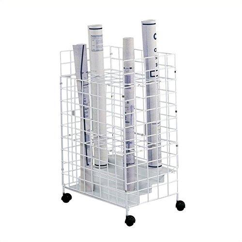 SAF3088 - Safco 24 Compartments Wire Storage (Safco Wire Roll File)