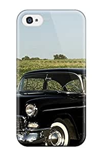 Flexible Tpu Back Case Cover For Iphone 4/4s - Girls And Cars
