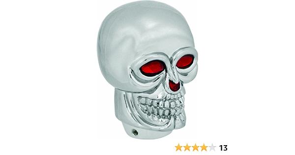 Bell Automotive 22-1-35508-8 Chrome Skull Shift Knob