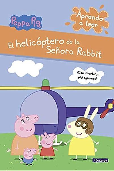 El helicóptero de la Señora Rabbit Peppa Pig. Pictogramas: Amazon.es: Varios autores, Adosaguas Sayalero SLU;: Libros