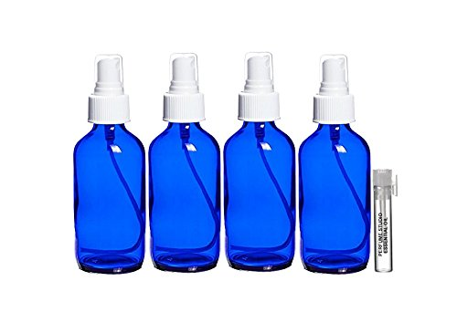 Perfume Studio 4 oz Smalt Cobalt Blue Glass Spray Bottle/...