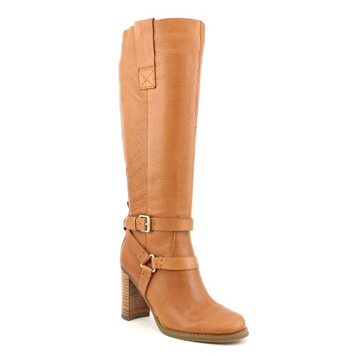 Toe Knee Le Bandolino Closed Fashion Aisel Natural High Boots Medium Leather Womens FZFnqTX1I