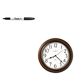 KITMIL625417SAN30001 - Value Kit - Howard Miller Talon Wall Clock (MIL625417) and Sharpie Permanent Marker (SAN30001)
