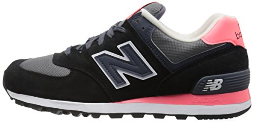 Donna black 574 pink 018 Multicolore New Running Balance Scarpe xRBwqYHI