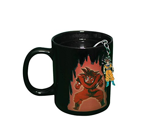 Dragon Ball Z Color Changing Coffee Mug with FREE Goku