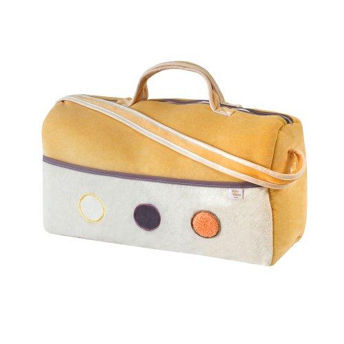 Câlin Câline Eliott 401.09 - Bolso de viaje, diseño de círculos, color amarillo, beige y violeta