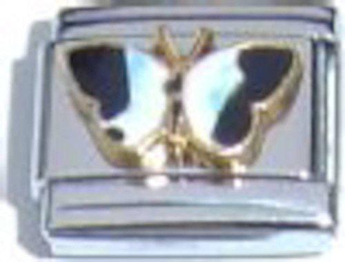 Butterfly Blue Italian Charm ()
