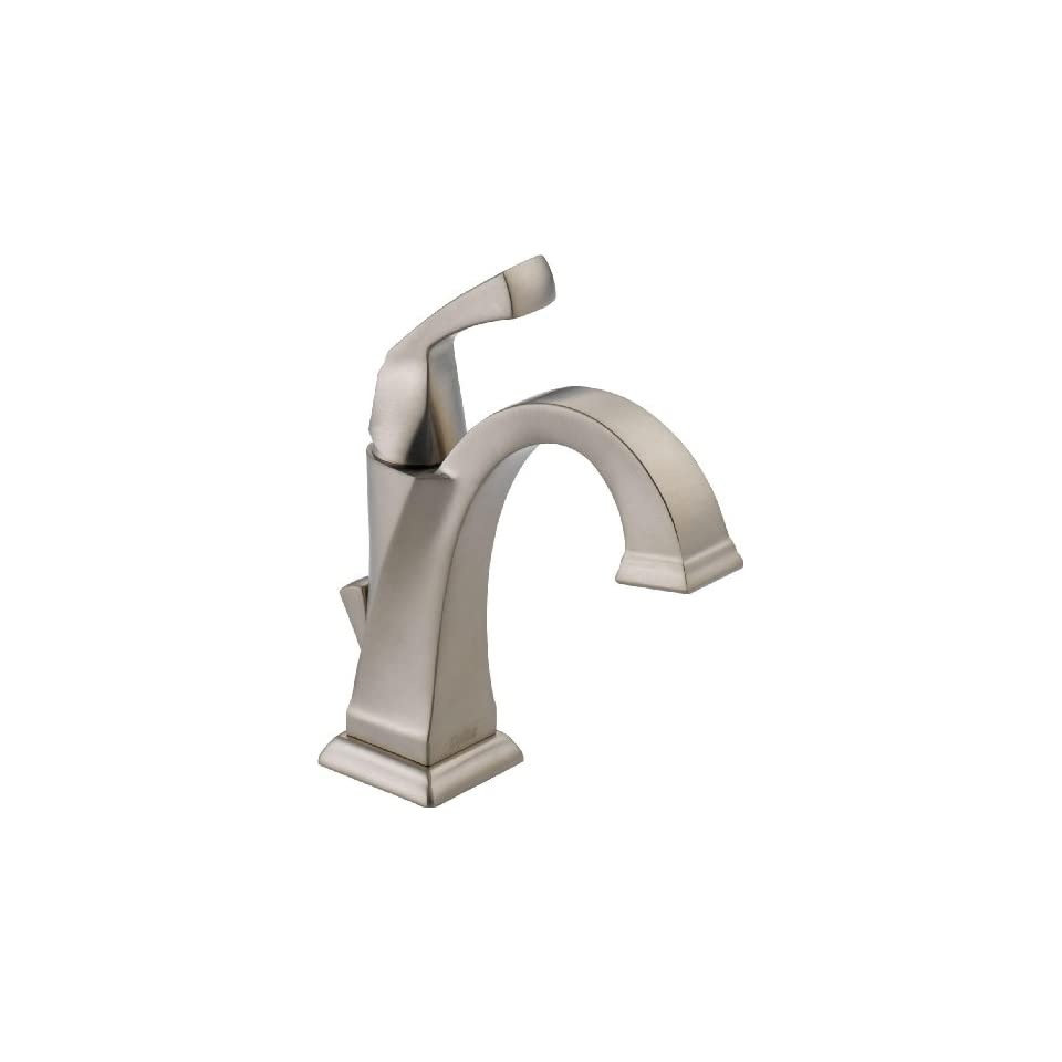 Delta 551 SS DST Dryden Single Handle Centerset Lavatory Faucet, Stainless