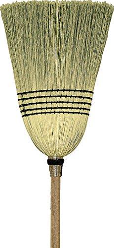 HAMBURG/NEXSTEP COMM PROD 6105-6 10214 Parlor 100% Corn Broom, 12