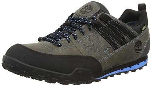 TimberlandGreeley Leather with Goretex Membrane - Low Rise Hiking hombre gris - gris (gris oscuro)