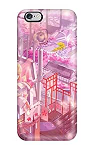 Hot Tpu Cover Case For Iphone/ 6 Case Cover Skin - Blondes Video Games Touhoucirno Ribbons Yakumo Yukariornaments Bangs