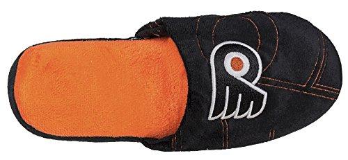 Nhl Menns Hevet 3-d Team Logo Tøfler Sko - Velg Laget Philadelphia Flyers