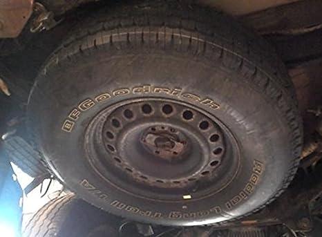 07 - 12 NISSAN PATHFINDER 17 x 7 - 1/2 acero rueda y neumático de repuesto DONUT # 3363: Amazon.es: Coche y moto