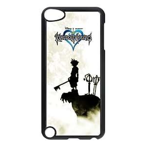 Kingdom Hearts E5L1Ve iPod Touch 5 Funda Caso Negro Diseño B0E3GD cubiertas del teléfono