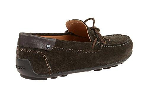 Geox U640xb 00022c6024 - Mocasines de Piel para hombre marrón
