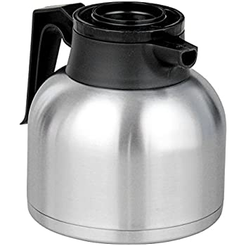 Amazon Com Bunn 40163 0000 Thermal Coffee Carafe Black