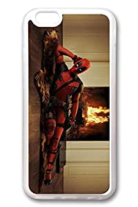 iPhone 6 Case, iPhone 6 Cases - Top Quality Clear Soft Case for iPhone 6 Deadpool Sexy Stylish Crystal Clear Rubber Case Cover for iPhone 6 4.7 Inches