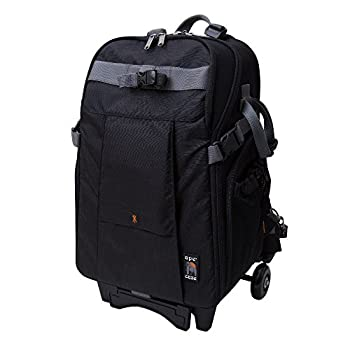 Image of Ape Case, High-Style, Black, Backpack with Wheels, Camera Bag (ACPRO3500WBK)