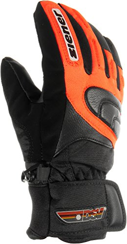 Ziener Kinder Skihandschuhe orange 7 1/2