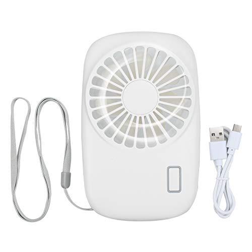 LiNKFOR Necklace Fan Mini Handheld Fan Portable Personal USB Rechargeable Battery Operated Cooling Fan Pocket Fan Adjustablefor Outdoor Travel Home Kids Girls Woman Home Office