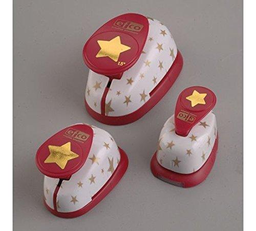 Efco Lot STAR Design Punch, rose 1792810