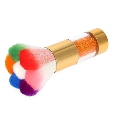 Anself Nail Art Dust Remover Powder Brush Cleaner For Acrylic & UV Nail Gel