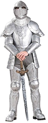 Knight in Shining Armor Costume - Standard - Chest Size up to (Mens Knight In Shining Armor Costumes)