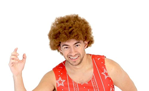 The 70's Aerobics Afro Wig