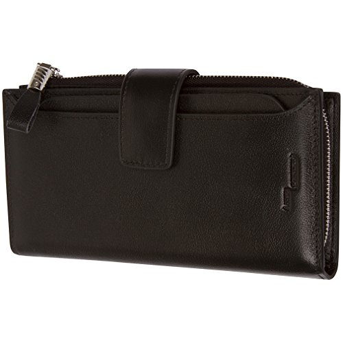 Genuine Leather Wallet Removable Blocking