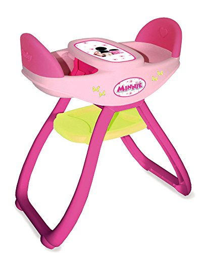 Smoby 24143 Minnie 2in1 Twin Dolls High Chair