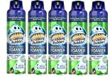 Scrubbing Bubbles Mega Shower Foamer with Ultra Cling Wide Spray, 20 oz (Pack 5), Blue