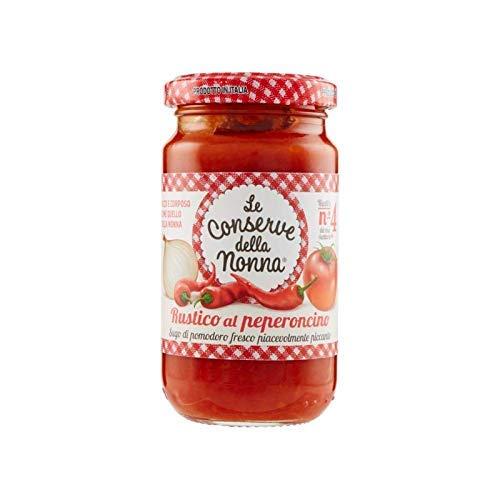 Le Conserve della Nonna – Rustieke Peperoncino Saus – Tomatensaus met Pikante Chili – 100% Italiaans Product – Ideaal om…